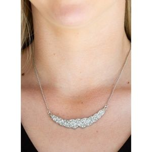 Paparazzi - Silver - Necklace & Earrings - #201
